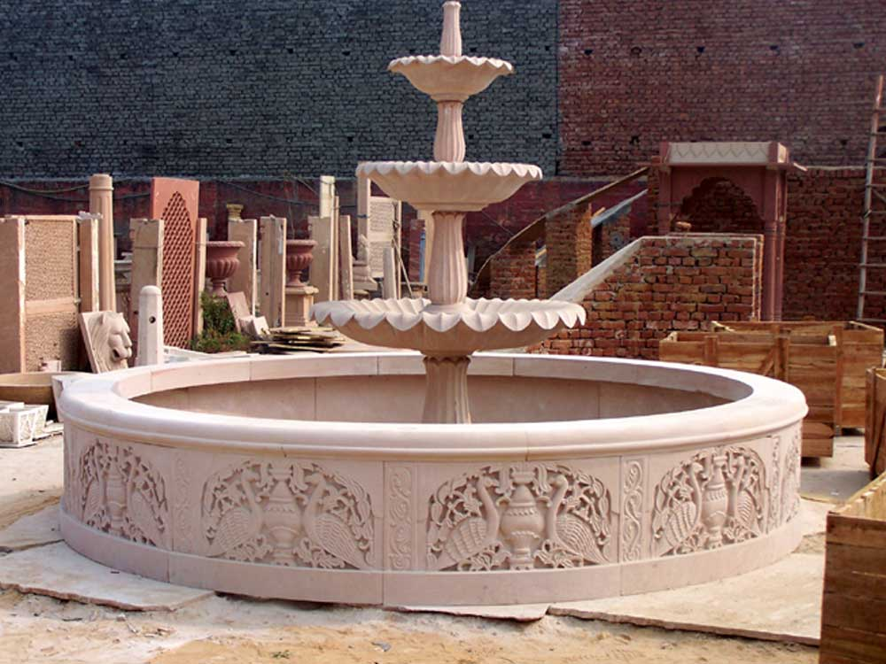 Marble and Sandstone Fountain Manufacturers, Rajasthan - India