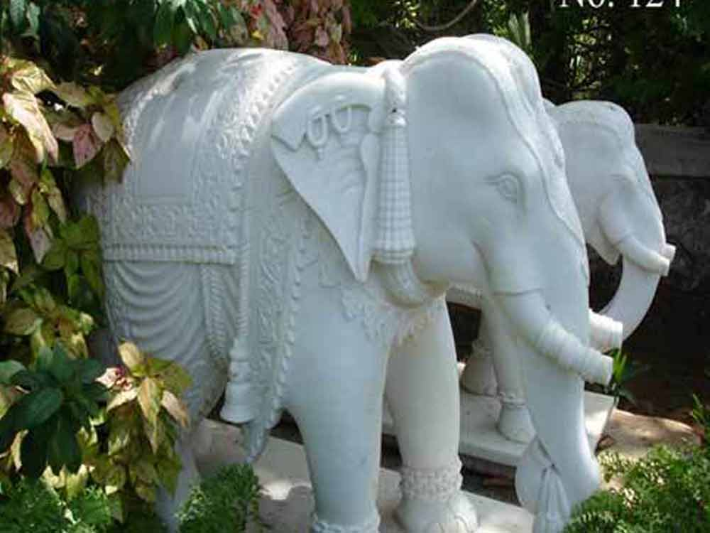 marble elephant manufacturer :: Stone Marble Elephant statue Manufacturers
