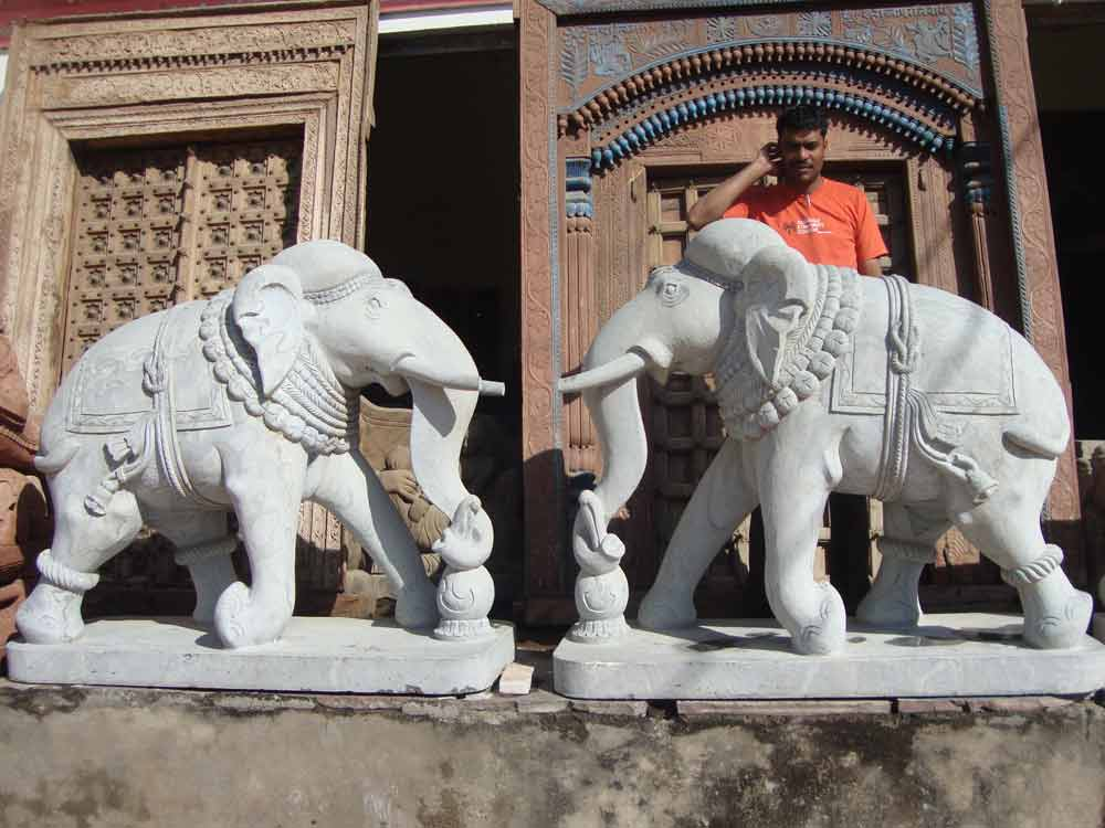 stone elephant statue :: Elephant Statue in Stone Maufacturers