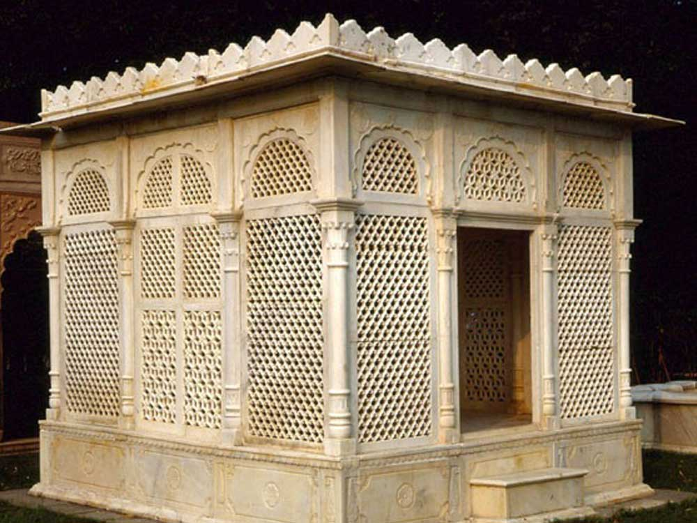 indian gazebo : Indian sandstone and Marble Gazebo