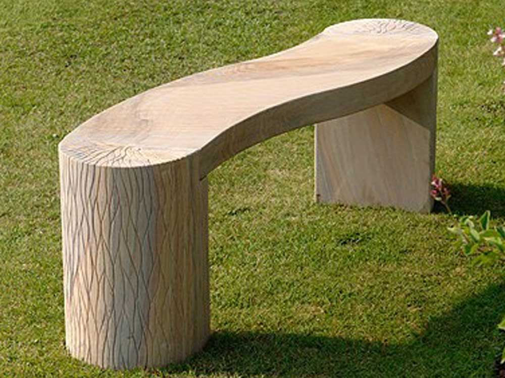 contemporary stone bench : Indian Marble and sandstone contemporary  bench