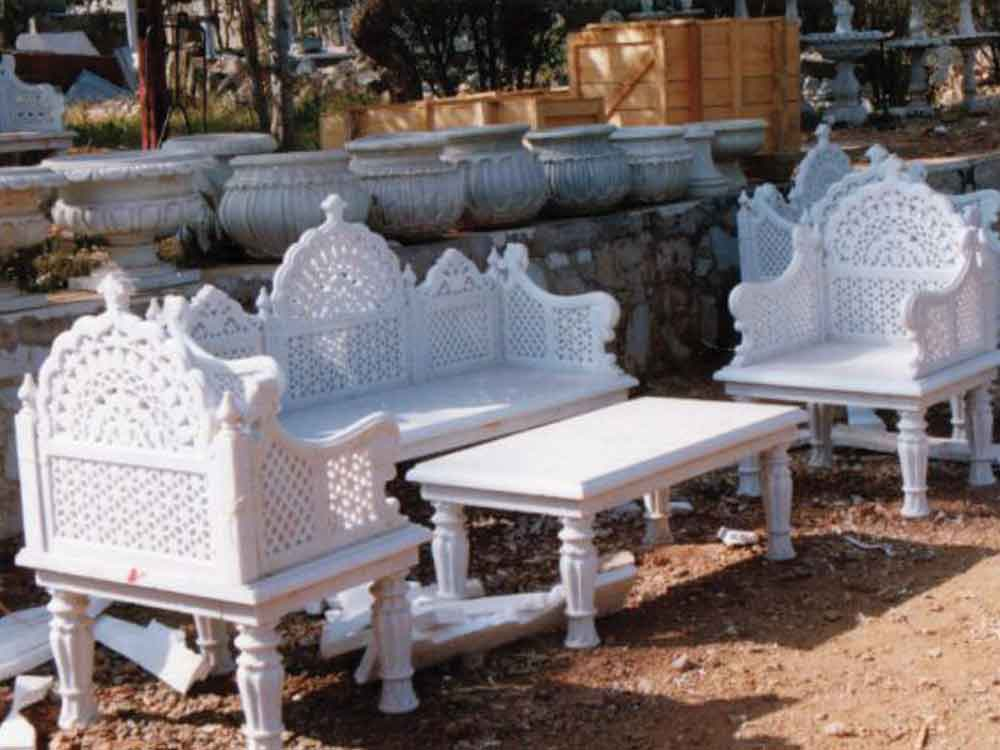 indian marble sofa : marble sofa manufacturer india