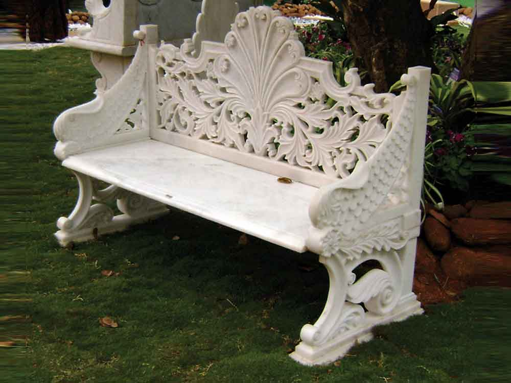 marble mughal sofa : maughal design marble sofa set india