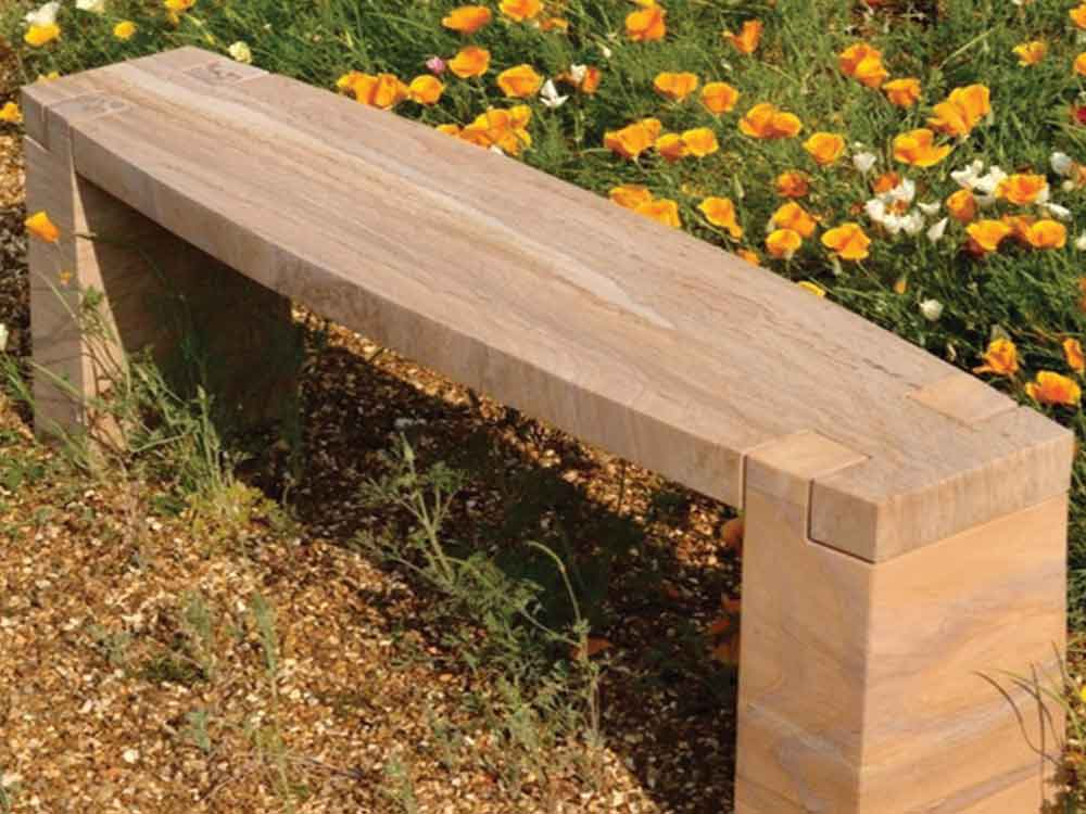 stone bench : india stone bench manufacturer factory : stone garden bench exporters